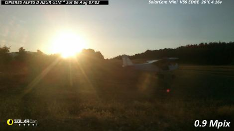Solarcam.fr : CIPIERES ALPES D AZUR ULM Solar Wireless Camera