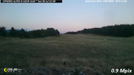 Solarcam.fr : CIPIERES ALPES D AZUR ULM - Solar Wireless Camera via France Webcams