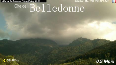 Solarcam.fr : Gîte de Belledonne Solar Wireless Camera