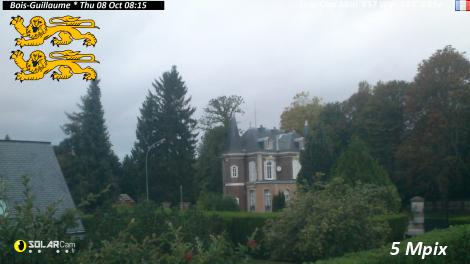 Solarcam.fr : Bois-Guillaume - Solar Wireless Camera via France Webcams
