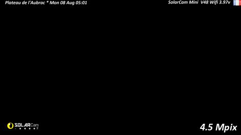 Solarcam.fr : Plateau de l'Aubrac - Solar Wireless Camera via France Webcams
