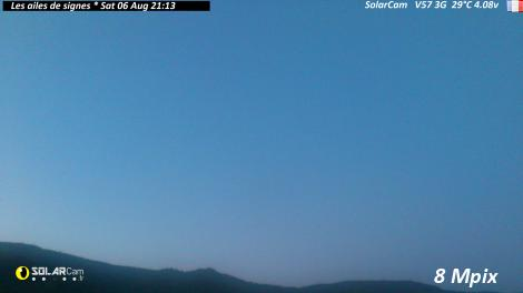 Solarcam.fr : Les ailes de signes - Solar Wireless Camera via France Webcams