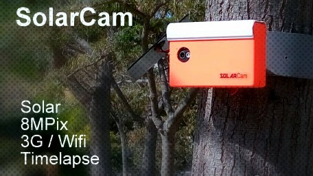 Solarcam.fr :  - Solar Wireless Camera via France Webcams