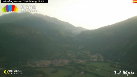Solarcam.fr : mirador_arasan es - Solar Wireless Camera via France Webcams