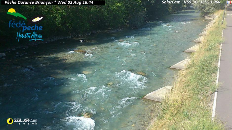 Webcam de la Durance à Briançon