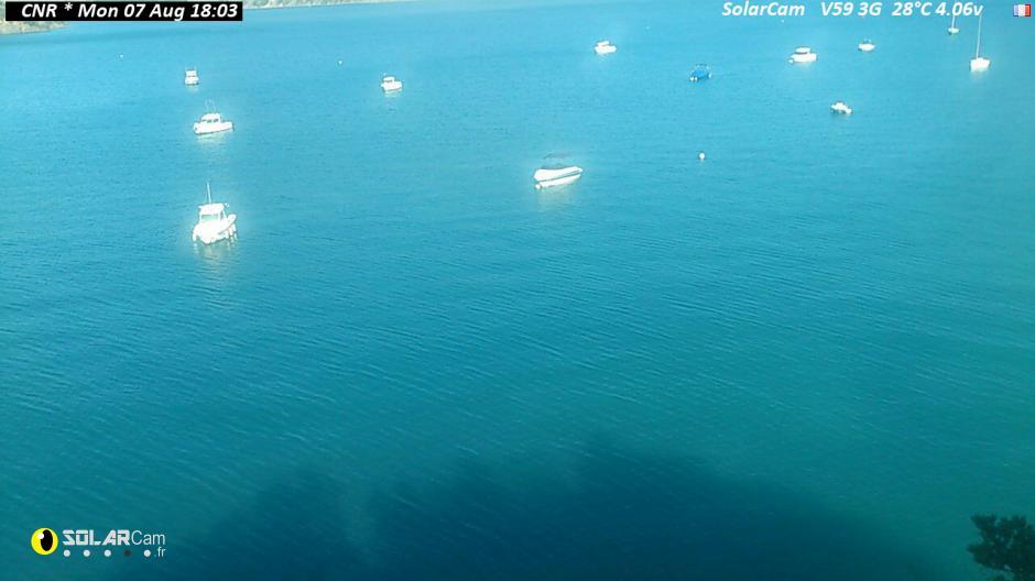 Webcam du lac de Serre Ponçon à Bois Vieux