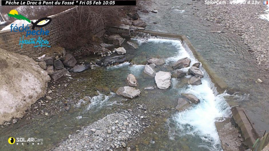 Webcam du Drac à Pont du Fossé